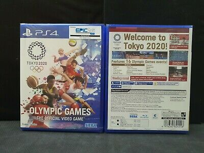 (ASIA ENGLISH VERSION) PS4 Olympic Games Tokyo 2020 Game (Brand New)