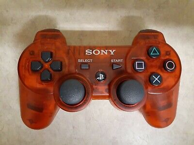 Genuine OEM Sony Playstation 3 PS3 CECHZC2UA1 DualShock Controller Sixaxis RED