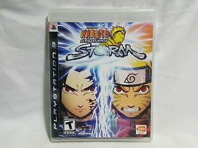 NEW Naruto Ultimate Ninja Storm 1 Playstation 3 Game SEALED PS3 US NTSC comprar usado  Enviando para Brazil