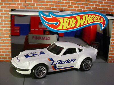 NISSAN FAIRLADY Z ✰white;lace; GReddy✰GRAPHICS✰2018 Hot Wheels loose