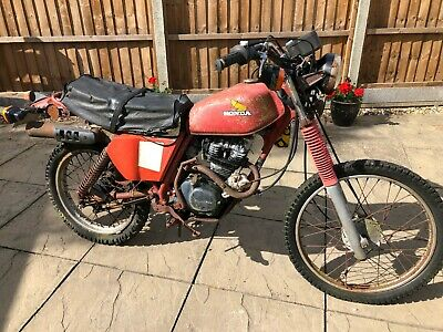 1982 HONDA xl125      BARN FIND