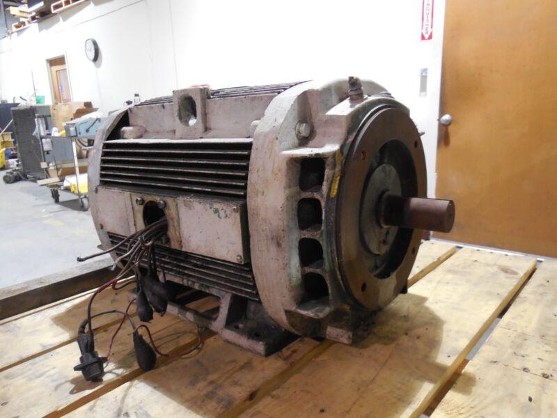 GE General Electric 15 HP Motor 1185 RPM (230/460 Volts) 3 Phase 5K286JL324V