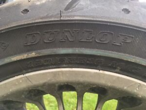 Harley Davidson rear tire and rim