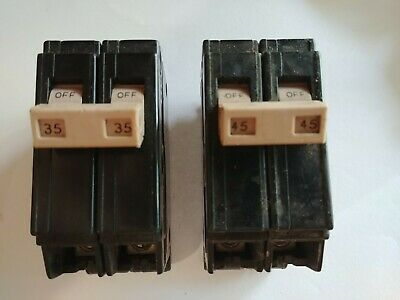 Both Ch235 Ch245 Cutler- Hammer Breakers. Free Shipping.