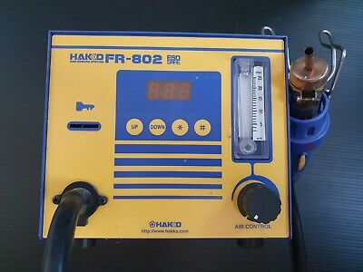 Hakko Fr-802 Digital Smd Rework Station Hot Air Rework Station 230v