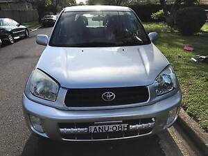 2001 Toyota RAV4 Wagon edge 4x4 maual Georges Hall Bankstown Area Preview