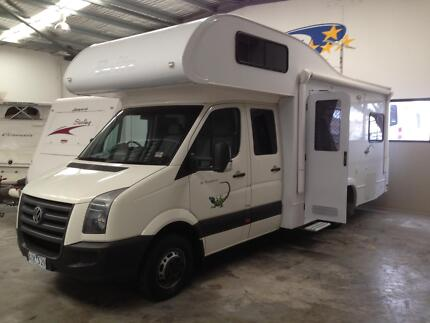 VOLTSWAGEN CRAFTER AUTO 6 BERTH CAMPER DIESEL SAVE THOUSANDS$$$$ Wangara Wanneroo Area Preview