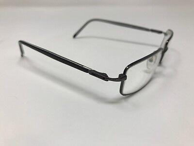 Authentic Nice!! Advantage Eyewear Dynasty Tsin 54-18-140 Gunmetal Black DR83