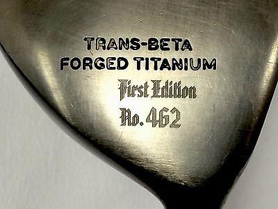 First Edition SC Series Faldo 818 Trans-Beta Forged Titanium Adams Driver 10.5 818 Series 818 Series