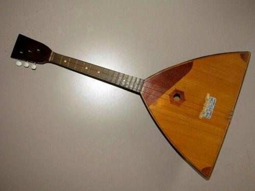 Vintage Chernihiv Balalaika 3 string named after Pavel Postyshev N-8
