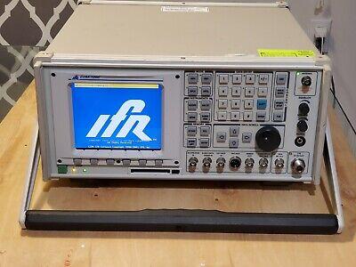 Ifr Com-120c Communications Service Monitor Aeroflex