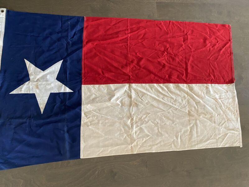Vintage Texas State Flag 3x5 ft defiante brand