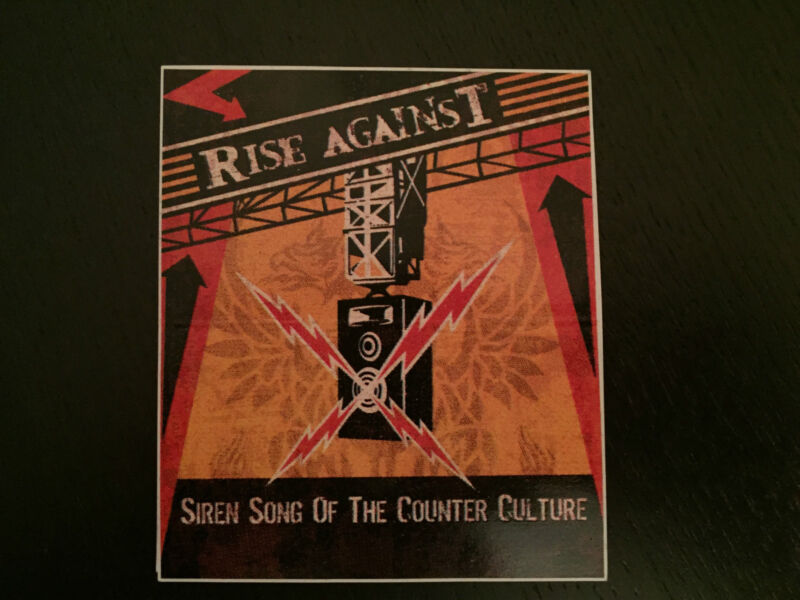 RISE AGAINST sticker Green Day the Offspring Sum 41 Pennywise AFI NOFX Blink-182