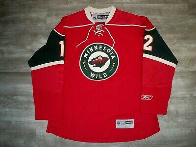Reebok CCM Minnesota Wild Home Brian Rolston Hockey NHL Jersey Uniform Size LG Minnesota Wild Home Jersey