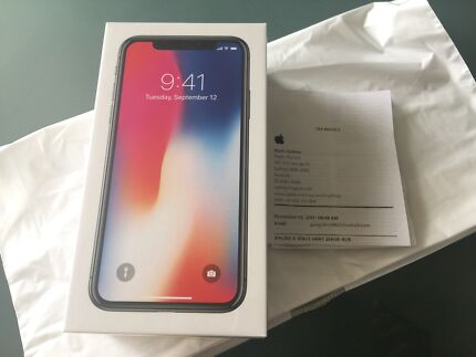 iPhone X 256gb Space Grey & Silver : IN STOCK. PICK UP NOW!