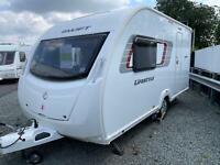 Swift Lifestyle 2 (Alpine 2) 2 Berth Caravan 2012 Mover Fitted