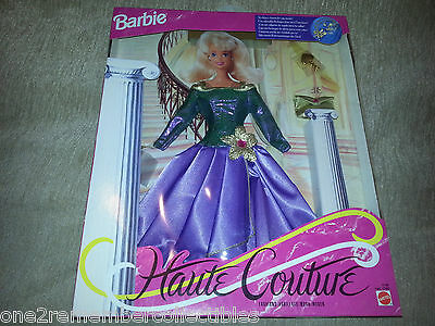 BARBIE Hot Couture Fashion Outfit DRESS CLUTCH + CHARM Doll Clothes 1994 MATTEL