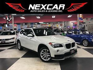 2015 BMW X1 XDRIVE AUT0 NAVI LEATHER PANO/ROOF CAMERA 81K