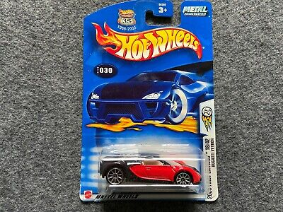 Bugatti Veyron Collector #030 2003 First Editions Hot Wheels