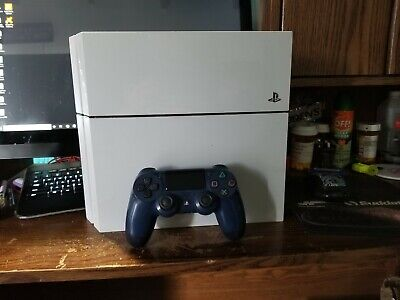 Sony PlayStation 4 Launch Edition 500GB Glacier White Console