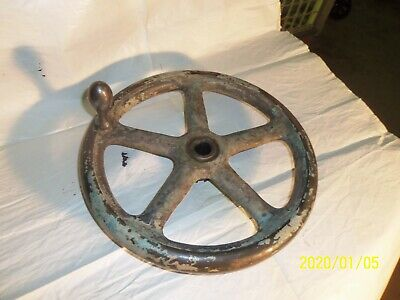 12 Diameter Cast Iron Hand Wheel  Cincinnati