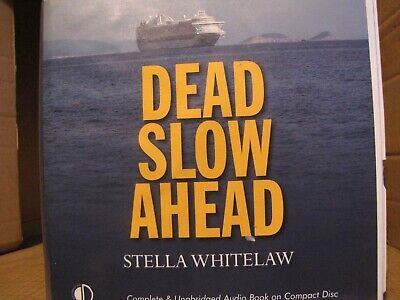 """Stella Whitelaw's """"Dead Slow Ahead""""  an Audiobook on CD read by Julia Barrie"""