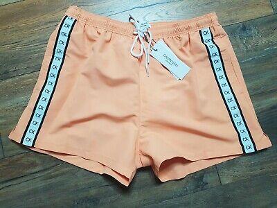 Calvin Klein Herren Badehose Short Cadmium Orange NEU Gr. S