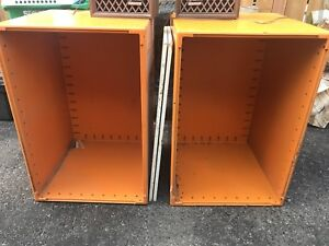 Pair of storage containers