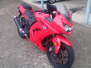 Kawasaki 250cc Ninja Lams Bike Hamilton Brisbane North East Preview