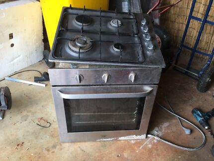 Oven and gas cooktop