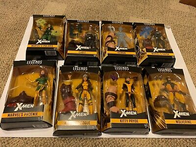 Marvel Legends Wolverine rogue figure x-men baf juggernaut complete set lot