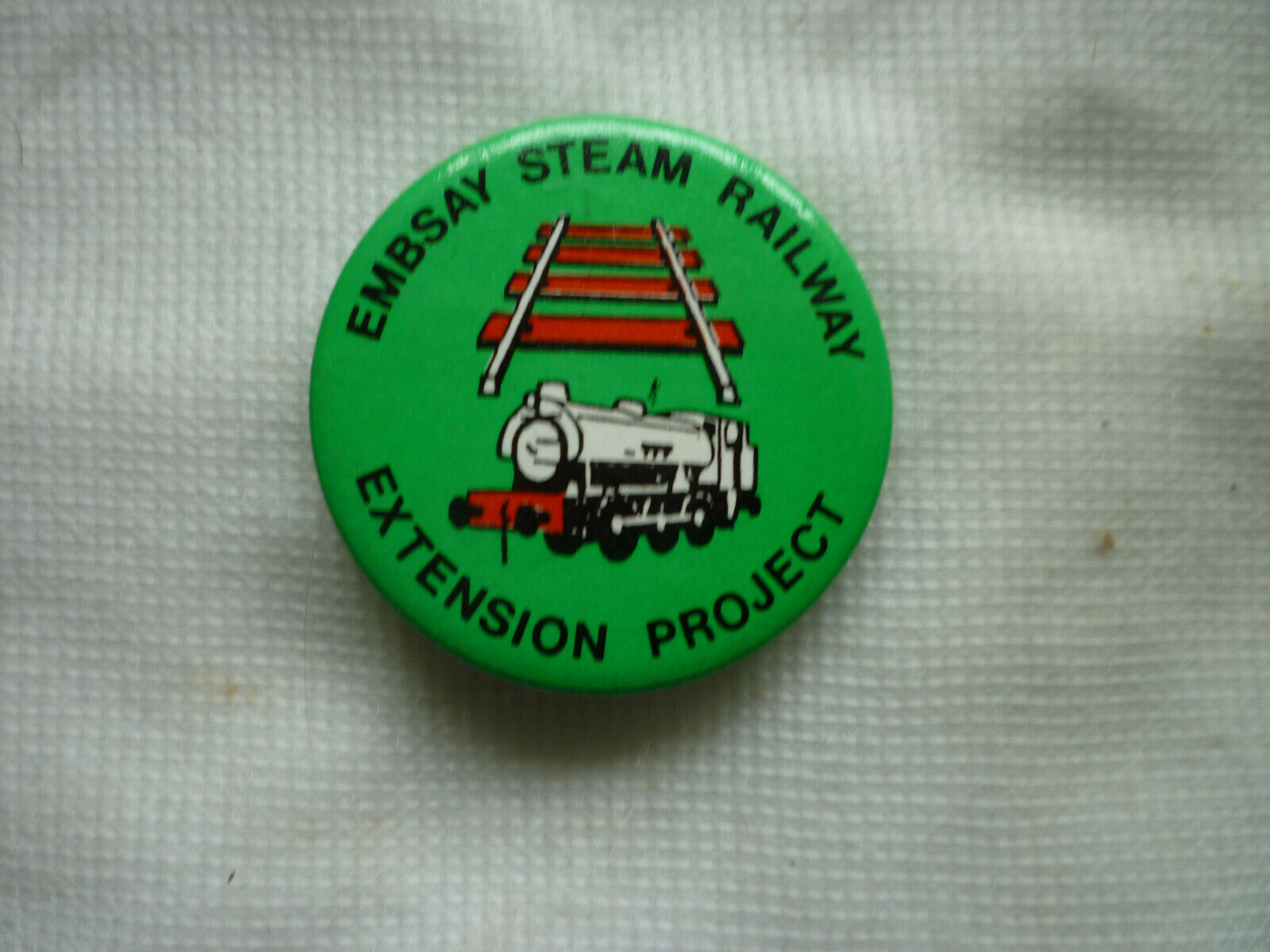 Embsay Steam Railway Skipton Pin Badge(North Yorkshire)