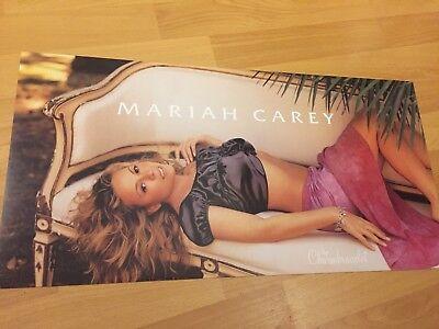 "Rare MARIAH CAREY Charmbracelet Promo 2-sided 24"" x12"" Poster R&B POP Sexy Diva"
