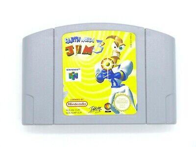 Nintendo N64 Game Earthworm Jim 3D PAL Tested
