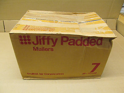 50 Nib Jiffy Padded Mailer 7 14-14 X 20 Case Of 50