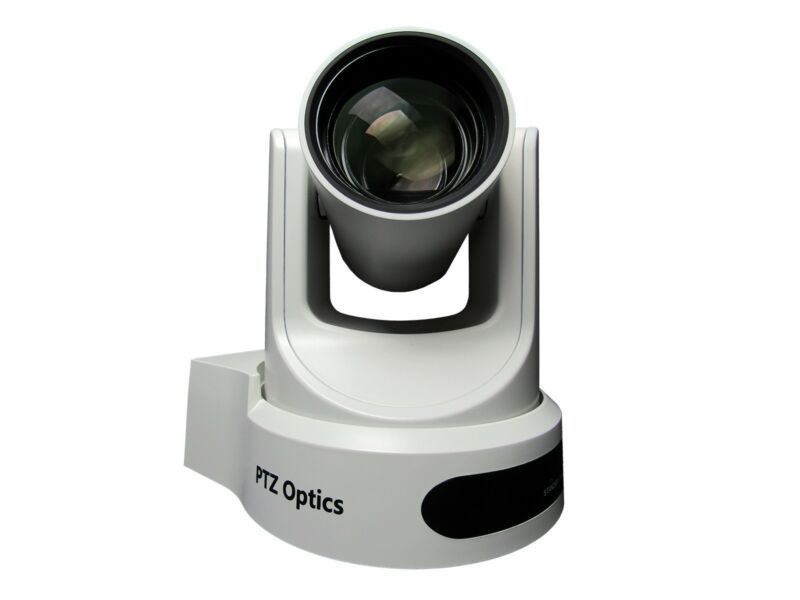 Ptzoptics Pt20x-ndi-wh 20x Optical Zoom Ndi/3g-sdi/hdmi/cvbs/ip Stream Cam/white