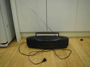 AKAI AJ-W225 STEREO RADIO DUAL CASSETTE PLAYER RECORDER AM FM RAD Malvern East Stonnington Area Preview