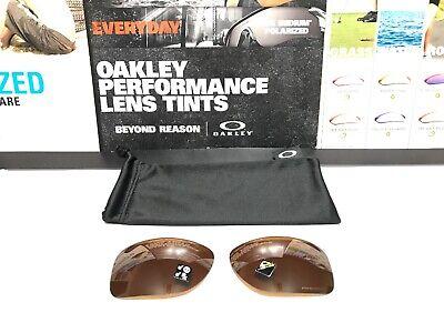Oakley Gauge 8 L Prizm Tungsten Polarized lenses - Brand New w/ Microfiber Bag
