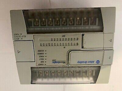 Allen Bradley 1762-l24awa C Micrologix 1200 14 120vac Inputs 10 Relay Outputs