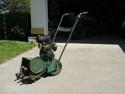 Antique Roto Hoe tiller powered by antique Lauson gas engine