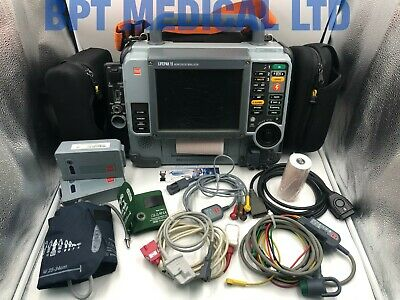 Lifepak 15 12-lead Monitor Mfd - 2010 Ecg Spo2 Nibp Etco2 Software 3207410-009