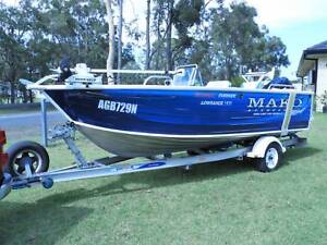 2010 Quintrex 510 Top Ender Side Console - Sold pending payment