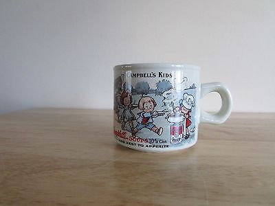 1994 Campbells Replica 1910 Souvenir Postcard 10 oz Coffee Mug Handled Soup -