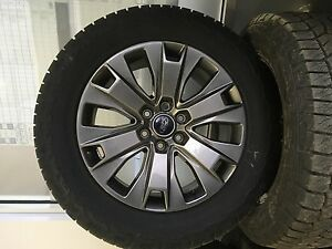 P275/55R20 F150 TIRE AND RIMS COMBO