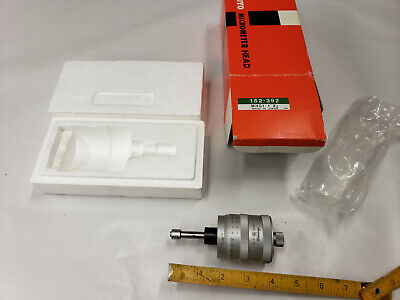 Mitutoyo 152-392 Large Thimble Micrometer Head 0-1 .0001  New In Box