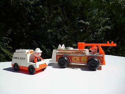 ☺ Jouet Camion De Pompier + L