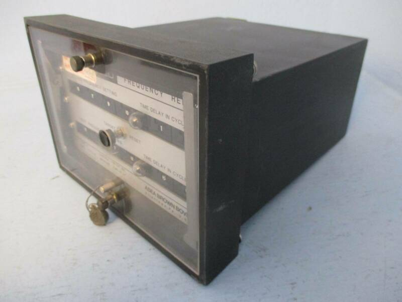 ABB 422C1276 Circuit Shield Frequency Relay Asea Brown Boveri
