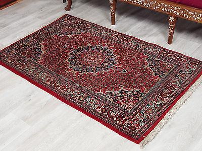 Orientteppich Hamburg 144x88 cm feine echt handgeknüpfte alter persische bidjar
