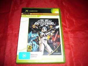 XBOX Original Star Wars Battlefront II 2 Xbox Game Free Post