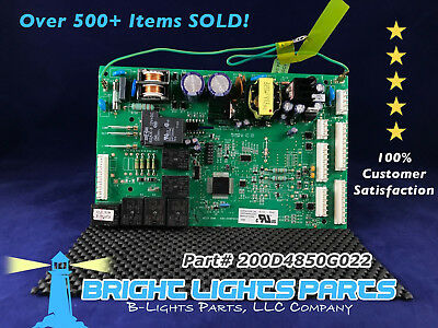 (GE Main Control Board FOR GE REFRIGERATOR 200D4850G022 / WR55X10942 Green)